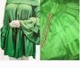 Green Ruffle Layered Top
