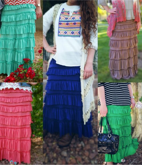 The Eleganza Layered Skirt