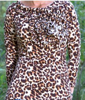 Jadore leopard top