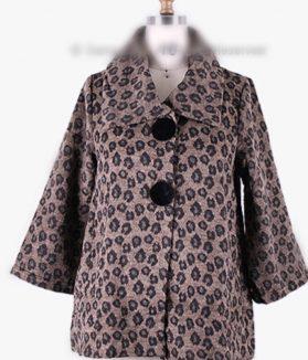 Leopard Brown jacket