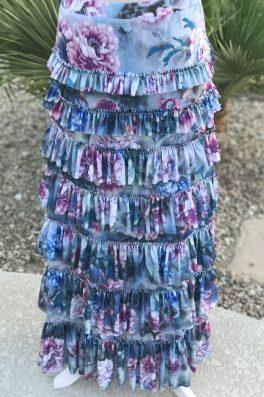 Floral Eleganza Skirt PRE ORDER