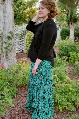 Eleganza Spring Skirt Greenery