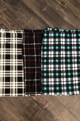 Plaid Pencil Skirts
