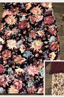 Spring Floral Pencil Skirt