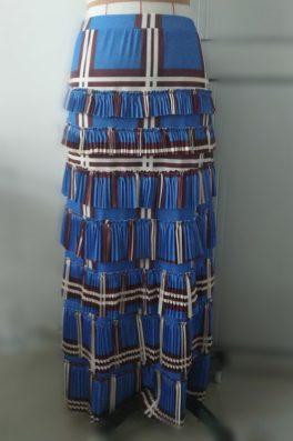 Pleated Eleganza Skirt ~ Plaids