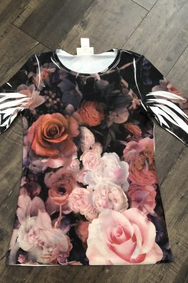 Floral Basic Layering Tee Ladies