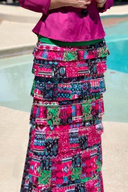 Rio Grande Pleated Eleganza Skirt