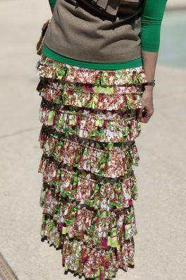Monte Ruffle Eleganza Skirt